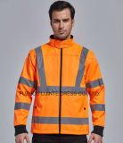 Высокий Workwear куртки Softshell безопасности видимости 2017