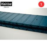 Blue Width Limited Flat Plastic Modular Conveyor Belt com ISO