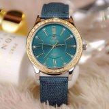 Montre de 361 montre de luxe de quartz d'affaires de belle femmes pour Madame