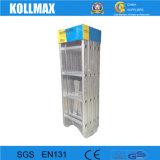 Faltbare Vielzweckaluminiumstrichleiter 4X5 für die industrielle Anwendung