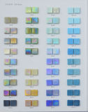 Плитка стеклянной мозаики голубая для плавательного бассеина, материала СПЫ декоративного