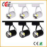 AC85V-265V COB LED spotlight la voie de lumière par la voie de l'éclairage28/PAR30 voie Lampes Lampes intérieure