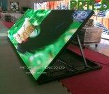 Visualización de LED caliente de la publicidad al aire libre de la resolución con los módulos 32X32dots (P5, P6)