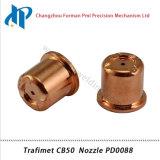 Trafimet CB50 плазменного резака материалы для наконечника сопла PD0088