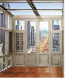 Профессиональное австралийское алюминиевое окно Casement с энергией эффективной