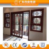 Hölzernes Korn-Aluminiumprofil, zum der Tür und des Fensters zu bilden