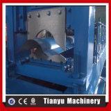 La tuile de Ridge de toit de feuille de couleur laminent à froid la formation faisant la machine