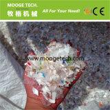 Macchina di riciclaggio di plastica del grande spreco della bottiglia per il latte dell'HDPE dei pp