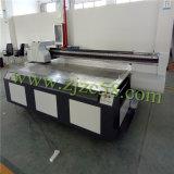 MDF/Glass를 위한 Cmyklclm+Ww 8 색깔 UV 평상형 트레일러 인쇄 기계