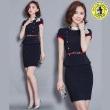 Vente en gros OEM Design Airline Stewardess Uniform Office Ladies Uniform