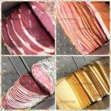 Industriel Automatique Big Row Saucisse Viande Jambon Bacon Cheese Fish Slicer Tranchage Cutting Machine