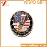 円形浮彫りの記念品のギフト(YB-HD-83)の樹脂メダルが付いているカスタムエナメル