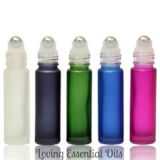 Rolo 10ml de vidro colorido vazio em frascos de perfume