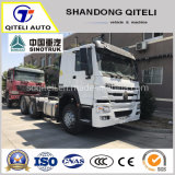 Sinotruk HOWO/HOWO HW76 6X4 420HP Tracktor головы/тягача 420HP погрузчика на тракторе