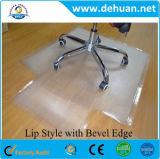 Estera del suelo de la estera/del Anti-Polvo de la silla de la oficina del PVC