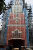 Maglia esterna che fa pubblicità alla bandiera, bandiera di costruzione della maglia degli involucri