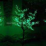 2,5 m de la Navidad Árbol de luz LED de color verde para la decoración de jardín