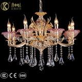 Goldenes Kristallleuchter-Luxuxlicht