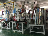 Secador dessecante do funil plástico do aquecimento para os grânulo que carregam o sistema