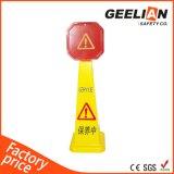 Cone de chão molhado, cone de tráfego de PP, sinal de trânsito