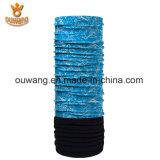 Écharpe tubulaire d'ouatine estampée par sublimation de collet polaire de l'hiver