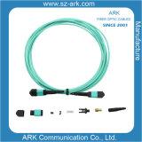 MPO/MTP Cable de fibra óptica Om3 latiguillo