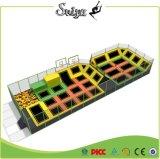 Fertigung-Cer-Bescheinigung verwendeter Handelstrampoline-Park für Verkauf