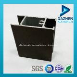 Perfil de alumínio anodizado para o material de construção da porta do indicador