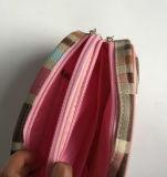 Sacchetto cosmetico di cuoio per le donne