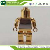 Heißes verkaufenmetall-USB-Stock Roboter geformtes USB-grelles Feder-Laufwerk