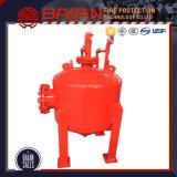 Sistema de extinción de incendios de espuma de espuma del tanque de vejiga