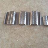 L'onda di alluminio della bobina dello zinco riveste il rotolamento del tetto del metallo ondulato mattonelle lustrato profilo che forma la macchina