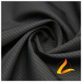 água de 50d 275t & do Sportswear tela 100% listrada tecida do poliéster do filamento do jacquard para baixo revestimento ao ar livre Vento-Resistente (53118A)