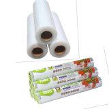 Il PE di fabbricazione della fabbrica aderisce pellicola dell'involucro dell'alimento, alimento che il PE del commestibile dell'involucro di plastica aderisce pellicola allungata LLDPE della pellicola