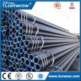 Tubo d'acciaio nero galvanizzato tuffato caldo del tubo ERW di Gi per costruzione