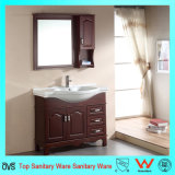 Floor-Mounted moderne Eichen-Holz-gesundheitliche Ware-Badezimmer-Eitelkeit