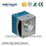 El explorador de alta velocidad Jd2203 del galvanómetro de Digitaces del fabricante con Ce aprobó para la máquina de grabado del laser