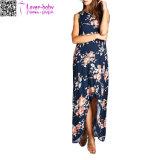 Платье L51417 нового типа способа высокое флористическое макси
