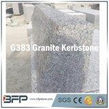 Jardim de granito natural Cobblestone / Pedra de contenção de pavimentação para jardim exterior