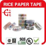 Artesanía bricolaje cintas de enmascarar de papel de arroz