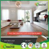 Sistema di scatto del PVC residenziale/hotel/pavimentazione commerciale del vinile di raccomandazione