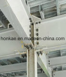 강철 구조물 제작 작업장 배치