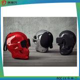 Altavoz sin hilos de Bluetooth de la forma del cráneo