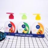 Liquide de lavage à la main en profondeur avec belle bouteille de 250 ml