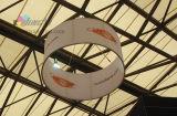 Visualización colgante de la bandera del techo de la aleación de aluminio del tubo de la tela de estiramiento EZ