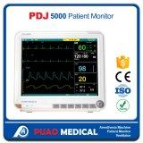 Pdj-5000 2017熱い販売の病院15.1インチの携帯用忍耐強いモニタ