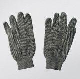 10oz het grijze Katoen breit Werkende Handschoen--2103