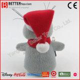 Rat van de Pluche van het Stuk speelgoed van de Dag van Kerstmis van het nieuwjaar de Zachte