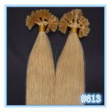 Unhas Queratina Pre-Bonded U Dica Extensões de cabelo humano