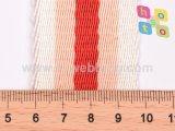 Alta qualità che torce la tessitura di nylon di colore per la cinghia del sacchetto